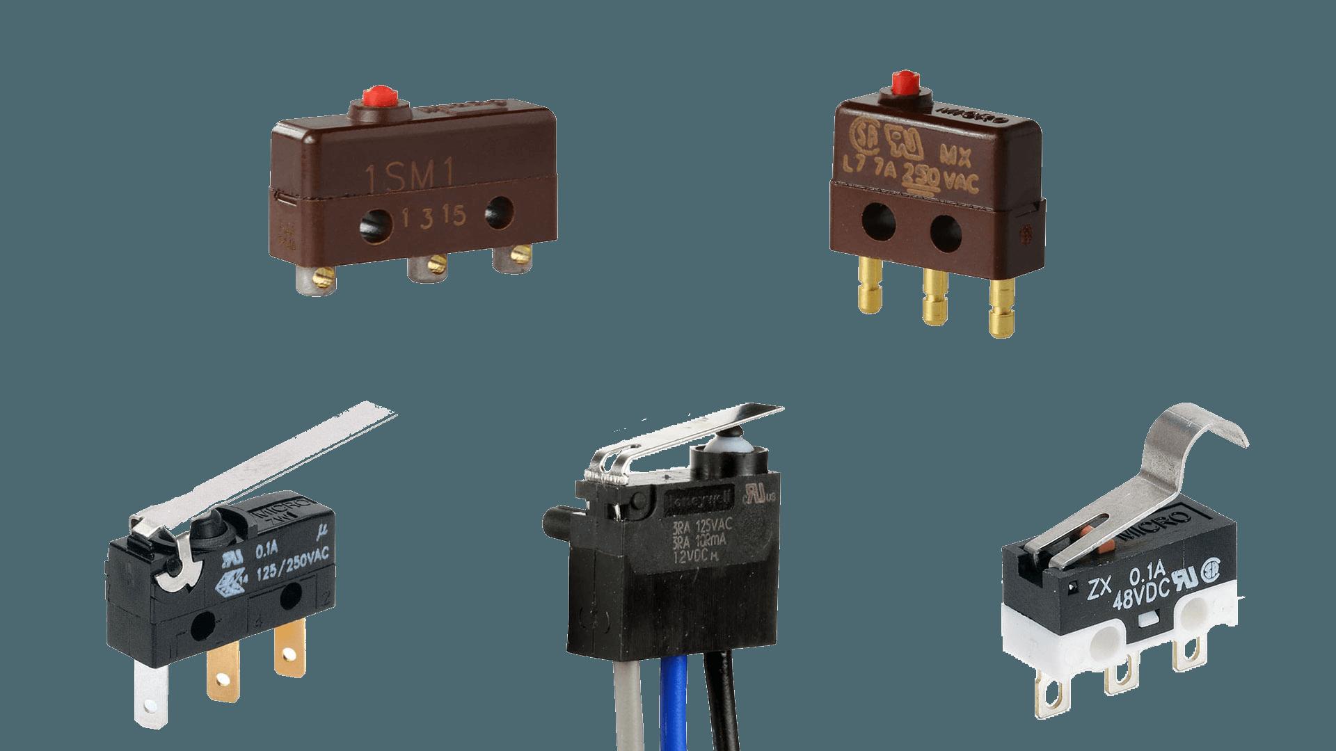 distributore microinterruttori subminiaturizzati honeywell